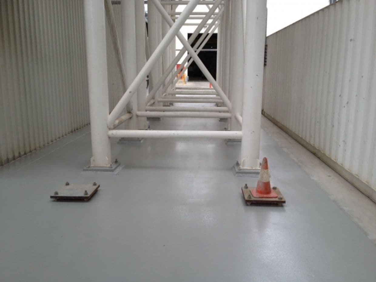 High Chemical Resistance Epoxy Flooring Systems