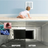 Floor/Ceiling Vents Cleaning