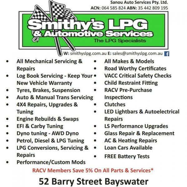 Smithy's LPG & Automotive Services