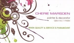 Cherie Marsden Painter & Decorator