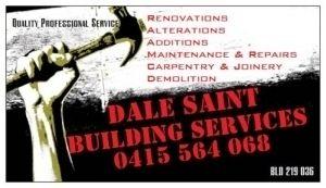 DALE SAINT BUILDING SERVICES
