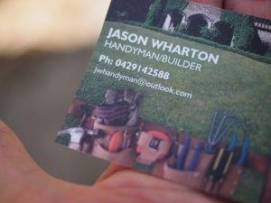 Jason Wharton Builder/Handyman