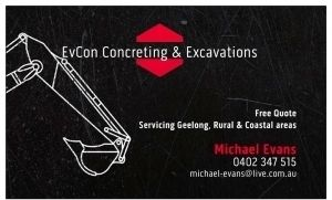 EvCon concreting & Excavations