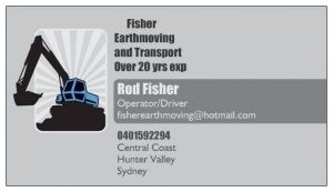 Fisher Earthmoving