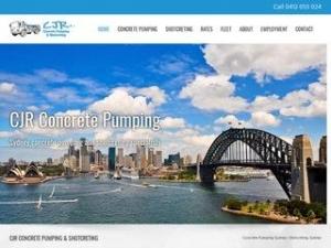 CJR Concrete Pumping Pty Ltd