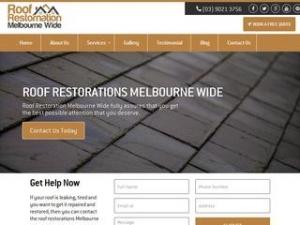 Roof Restoration Melbourne Wide