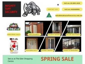 Mighty Tuff Security Doors and Shutters